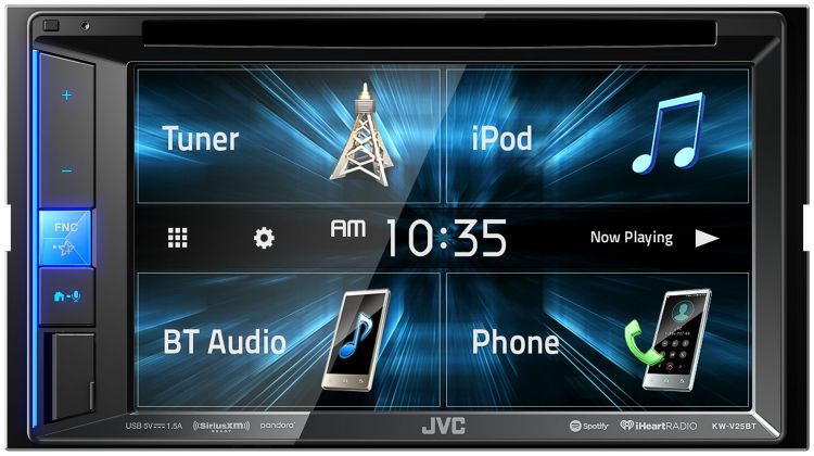 JVC KW-V25BT Double DIN Headunit