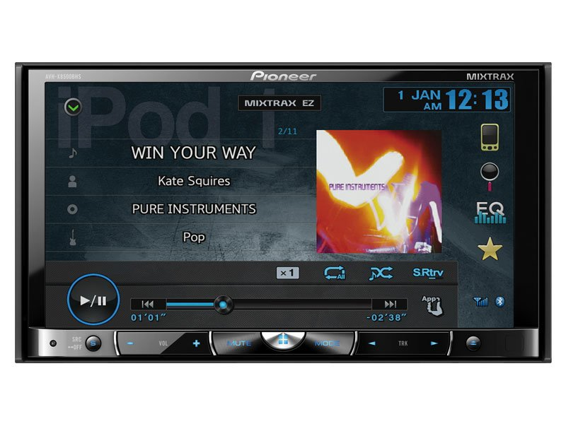 PIONEER AVH-X8500BHS review