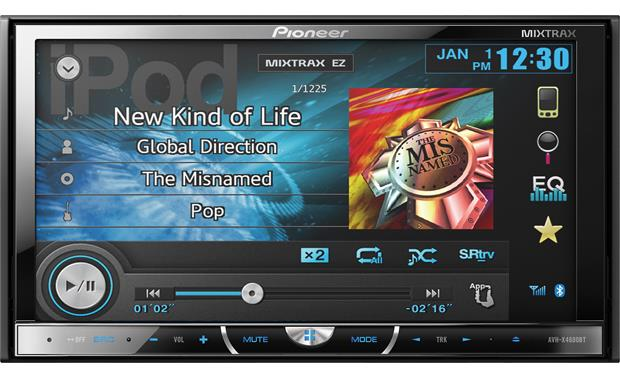 Pioneer AVH-X4600BT Touchscreen Car Stereo