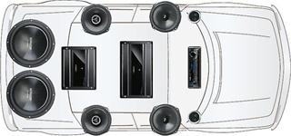 stage5 how to build a budget friendly car audio system for your vehicle 6 speakers 4 channel amp wiring diagram at webbmarketing.co