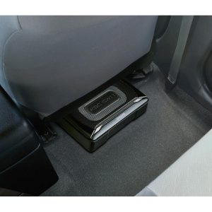 Kenwood KSC-SW11 mounted underseat