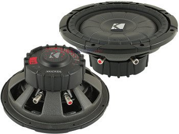 Kicker 10CVT104  CompVT Series Shallow Mount Subwoofer review