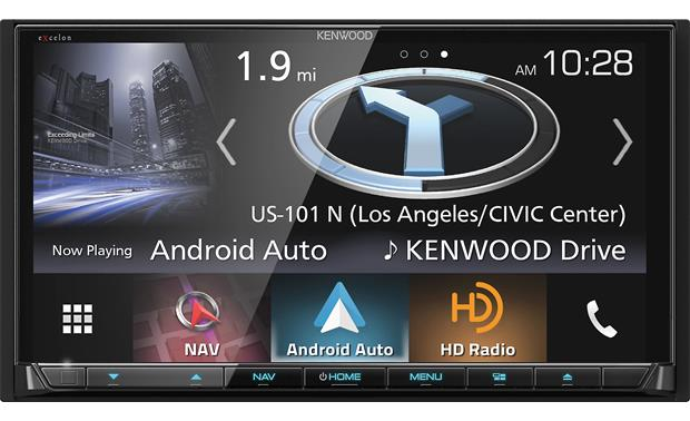 Kenwood Excelon DNX994S Double DIN Stereo Receiver