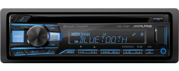 Alpine CDE-172BT Single DIN Headunit Bluetooth Receiver