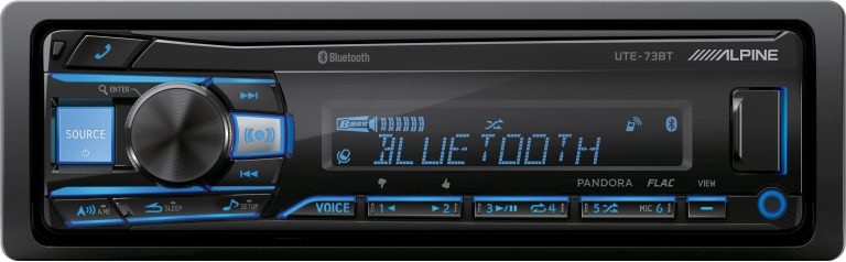 Alpine UTE-73BT Single DIN Head Unit
