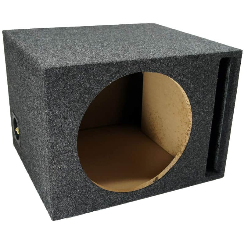 American Sound Connection Single Vented Subwoofer Stereo Sub Box
