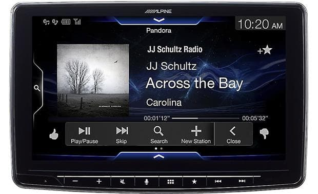 Alpine Halo9 ILX F309 head unit
